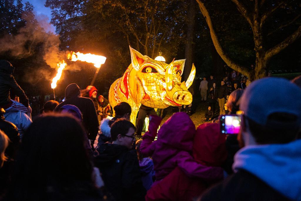 Mythic Beasts, Cecil Green Arts. Photo by David Enyori.